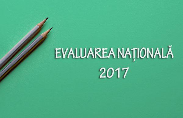 Subiecte Evaluarea Naţională 2017