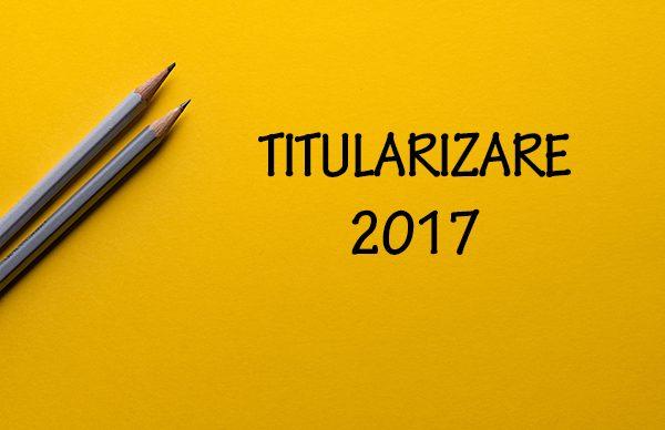 Subiecte examenul de titularizare 2017