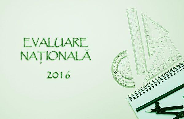 Model de subiect pentru Evaluarea Naţională 2016