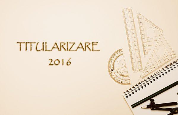 Subiecte examenul de titularizare 2016