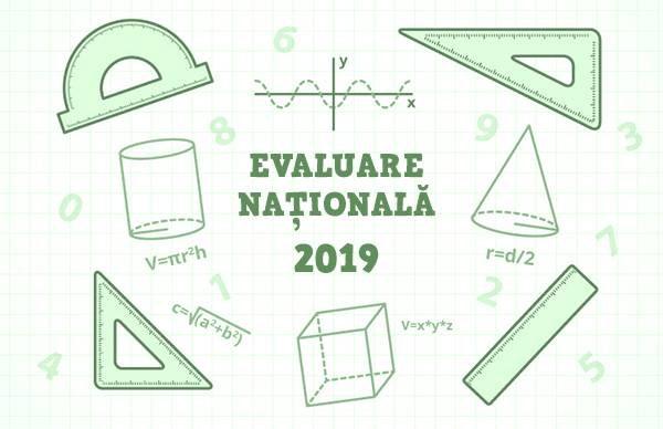 Model de subiect pentru Evaluarea Naţională 2019