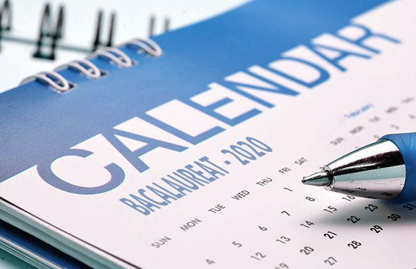 Calendar Bacalaureat 2020