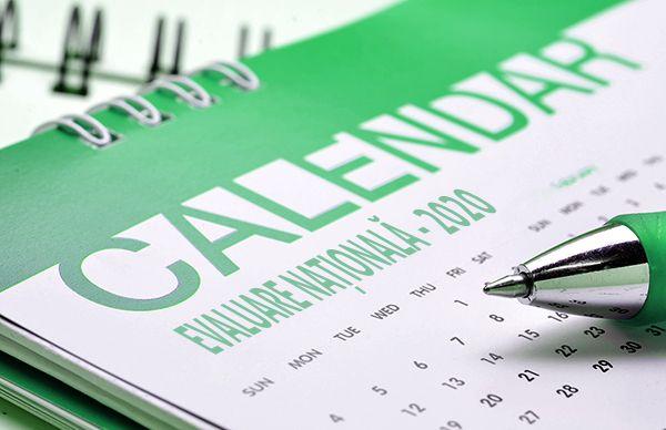 Calendar Evaluare Naţională 2020