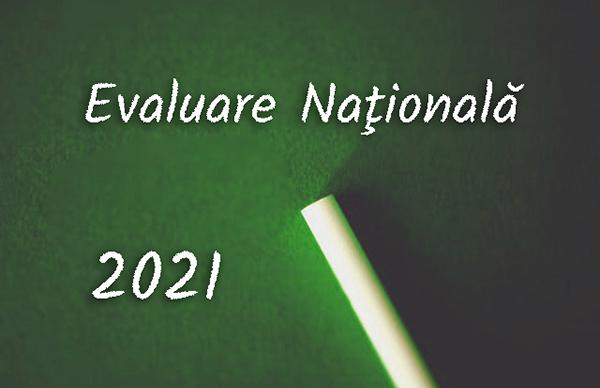 Model de subiect pentru Evaluarea Naţională 2021