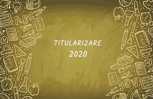 Subiecte Titularizare 2020